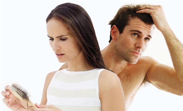 Выпадение волос у представителей сильного и слабого пола