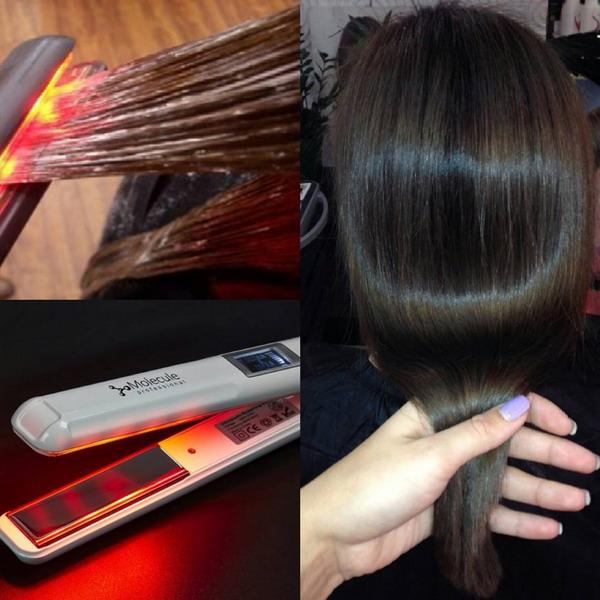 Возвращение волосам блеска и силы предусматривает температурно-восстановительное воздействие с использованием специального приспособления