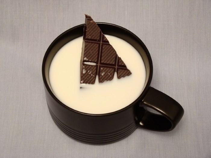 Кефирно-шоколадная смесь от выпадения волос