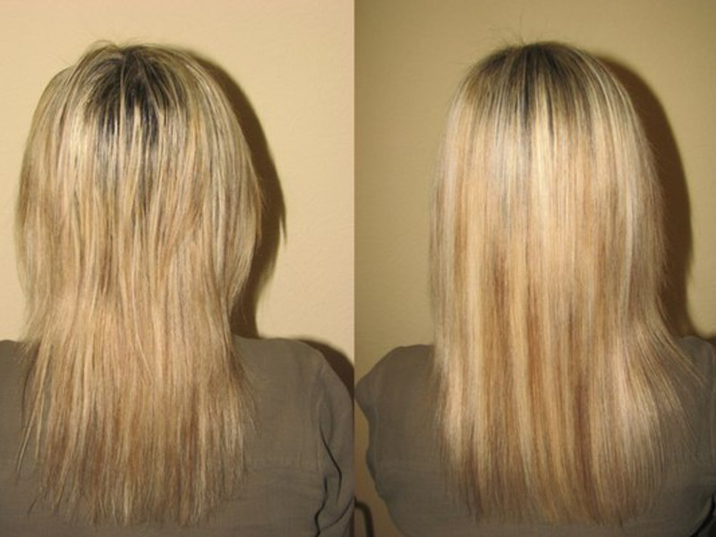 Проведение молекулярного глянцевания позволяет вернуть волосам силу и блеск