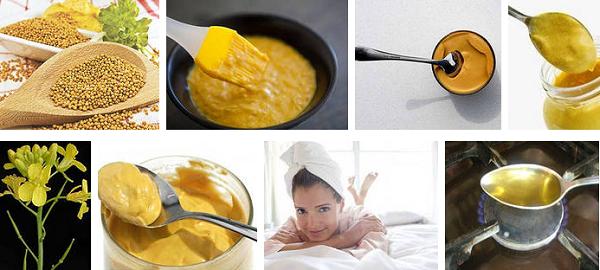 Горчица – как ингредиент кефирных масок для волос