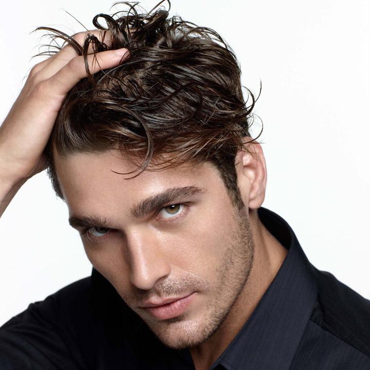 Красивые мужские волосы и причёска