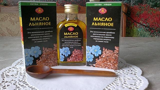 Льняное масло выжимают из семян