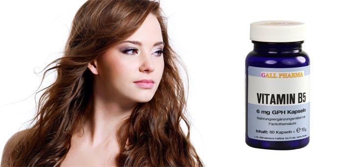 Б-5 – одни из главных витаминов при сильном выпадении волос