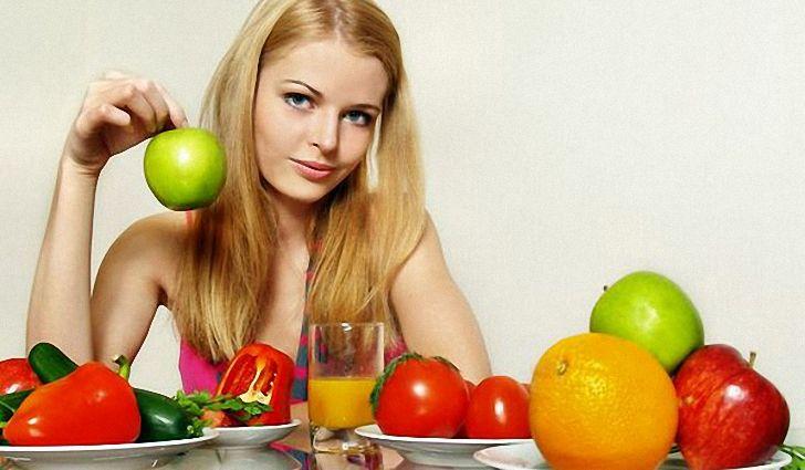 При пористости волос необходима сбалансированная диета