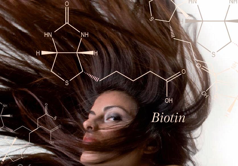 Биотин очень важен для здоровья и развития волос