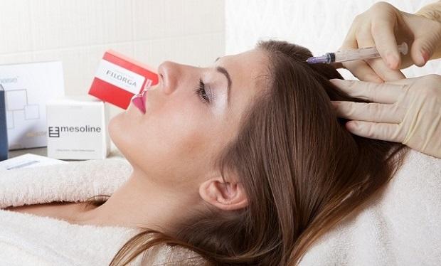 Мезотерапия помогает избавиться от многих проблем с волосами