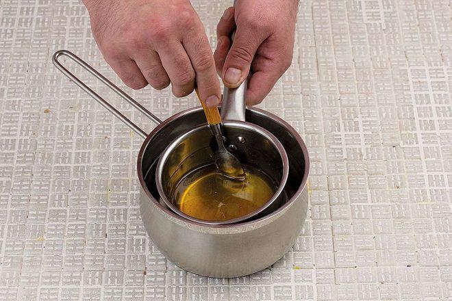 Мед лучше растопить на «бане»