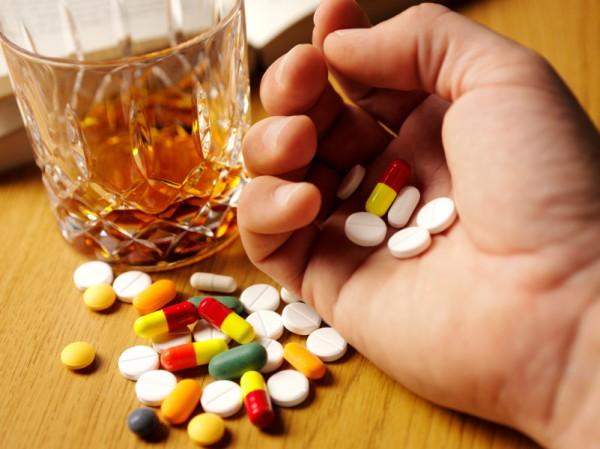 Витамины и алкоголь не совместимы