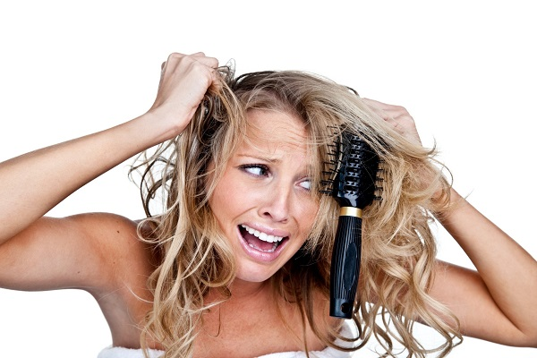Пористые волосы трудно привести в порядок