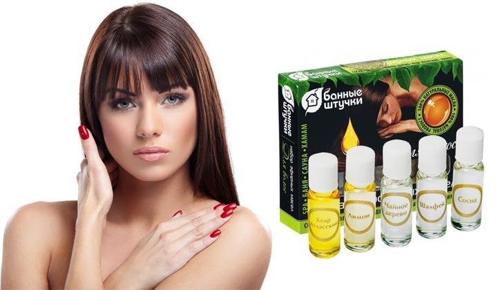 Маски для волос на основе эфирных масел