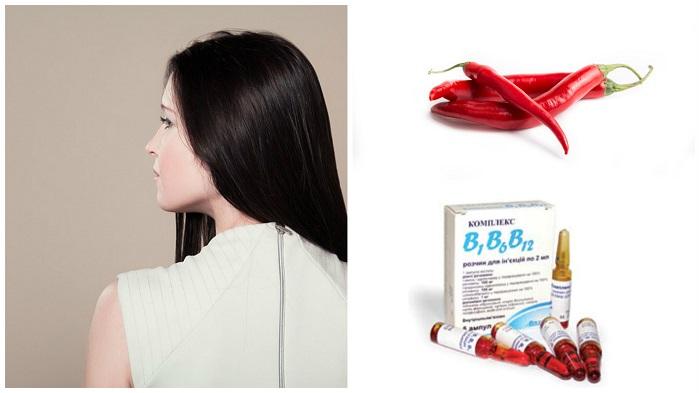 Маски с жидкими витаминами для предотвращения выпадения волос
