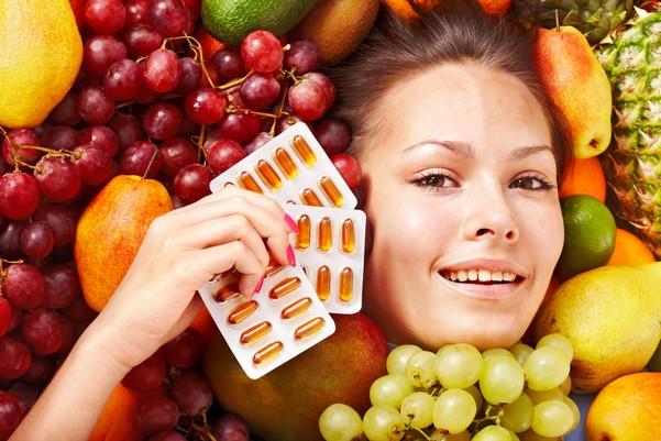 Не следует забывать о витаминах и правильном питании