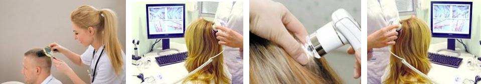 Лучше всего определит причину потери волос специалист-трихолог