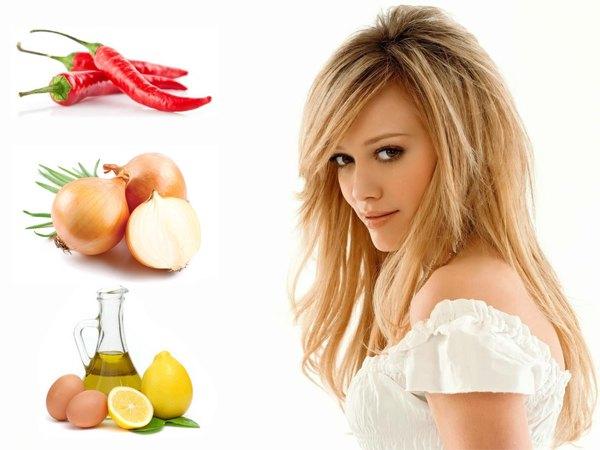 Есть множество средств домашней косметологии для лечения ослабленных и плохо растущих волос