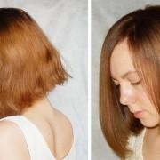 После ламинирования волосы выглядят более здоровыми
